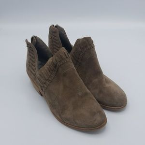 Vince Camuto suede ankle booties